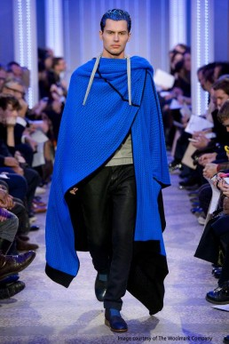 Luxury merino knitted cape