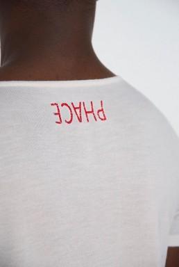 T shirt in maglia