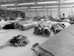 Paper patterns for clothing cutting layouts